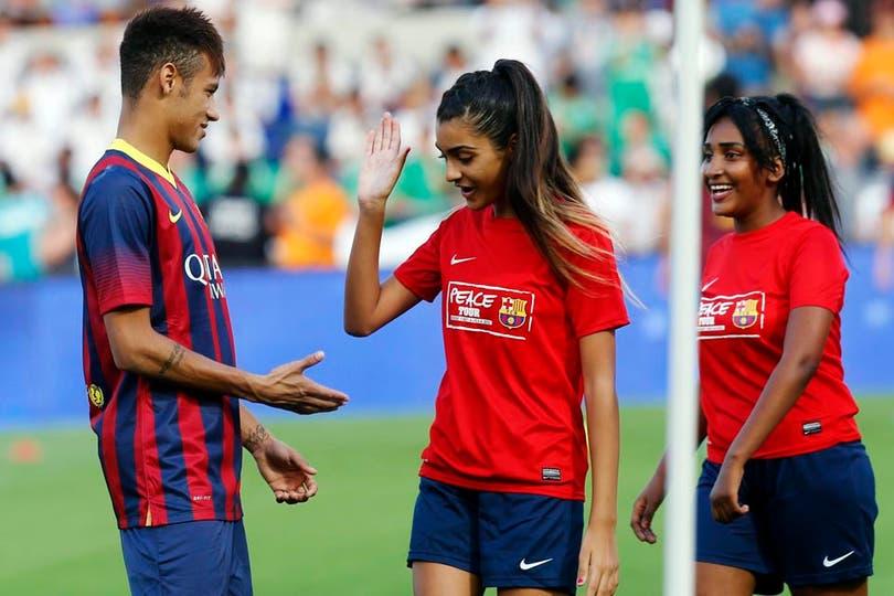 Esa carita Neymar..... Foto: Fotos de EFE, AP, AFP y Reuters