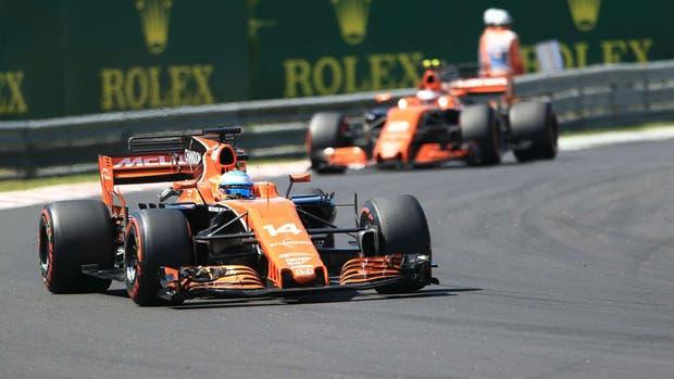 McLaren cambia por Renault a partir de 2018