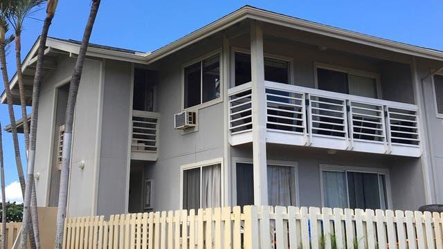 La casa donde residía Ikaika Kang