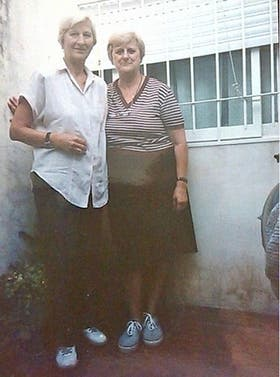 Dos de las tres madres de la mamá de Ignacio