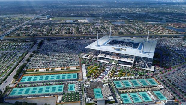 El Miami Open abandona Key Biscayne y se mudará al Hard Rock Stadium en 2019