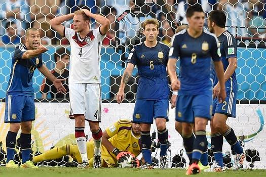 La Argentina perdió con Alemania 1-0 en la final. Foto: AP