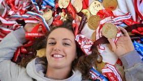 La múltiple campeona Katinka Hosszu