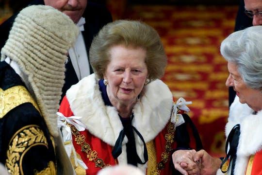 El 25 de mayo de 2010 asistió a la apertura de la Cámara de los Lores en Westminster. Foto: Archivo