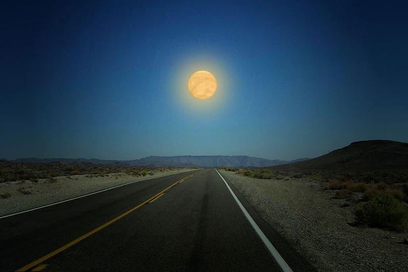 Cómo sería Venus en lugar de la Luna.