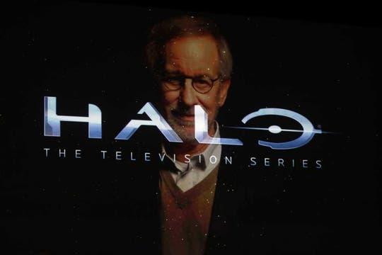 El director Steven Spielberg confirmó una serie televisiva basada en Halo, el título emblema de la consola Xbox. Foto: Reuters