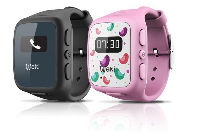 Los dos modelos de relojes de Weki
