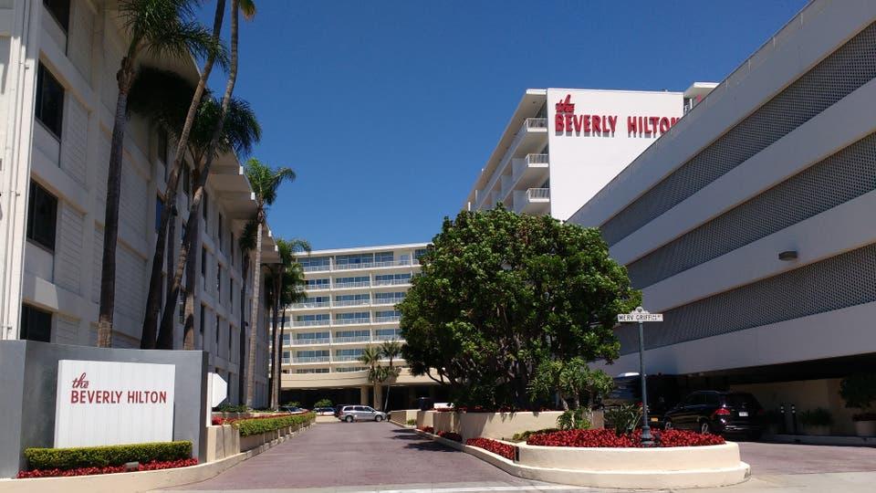 Hotel Beverly Hilton en Los Ángele, en la habitación 434 murió Whitney Houston