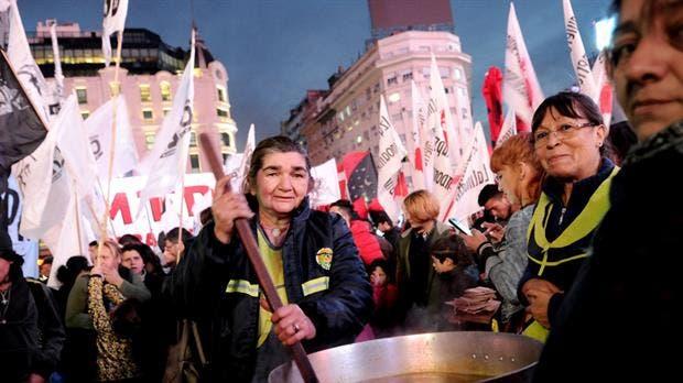 Organizaciones sociales marcharán hacia la Legislatura porteña