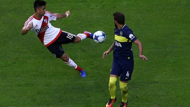 Gonzalo Martínez y el primer gol de River, una excelente herramienta promocional