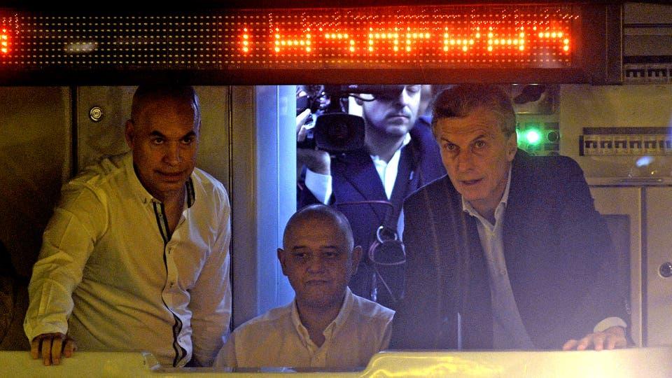 Mauricio Macri y Rodríguez Larreta inauguraron dos estaciones de la línea H de subte