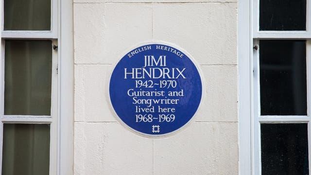 El guitarrista vivió en la calle Brook