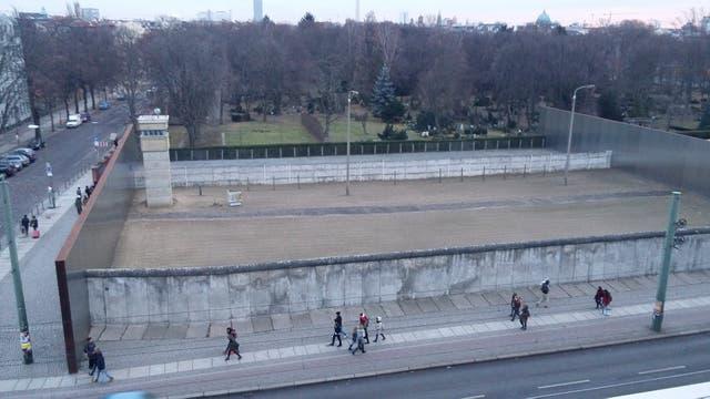 El Memorial del Muro en Bernauer Strasse