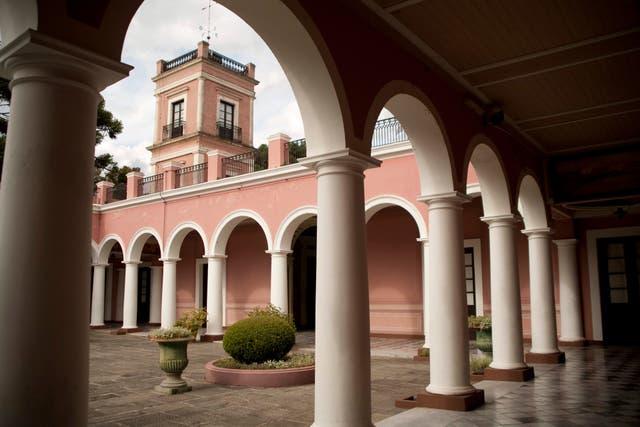 Palacio San José, en Concepción del Uruguay.