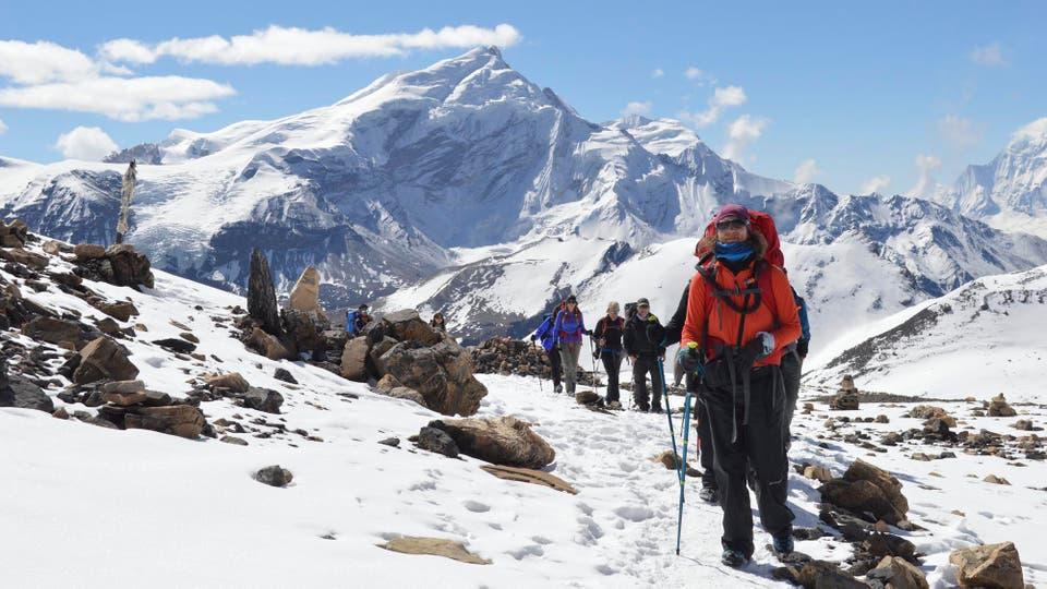 Un trekking exigente, pero con una gran recompensa a la altura del esfuerzo