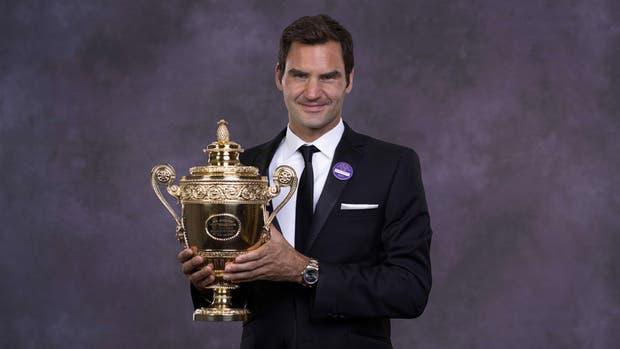 Federer, el hombre de los 19 Grand Slam