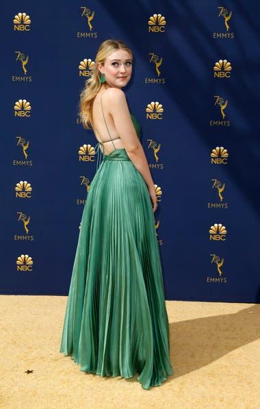 Dakota Fanning, una de las estrellas de The Alienist, nominada como mejor serie limitada o telefilm
