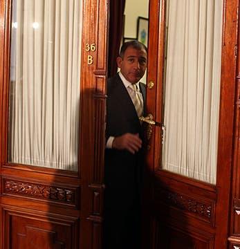 Luis Juez en el Congreso de la Nación. Foto: LA NACION / Aníbal Greco