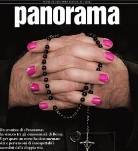 La tapa de la revista Panorama