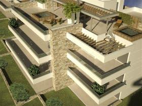 Las terrazas escalonadas permiten más intimidad