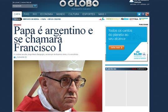 O Globo de Brasil. Foto: Captura de Pantalla