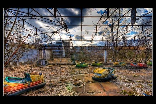 La ciudad fantasma de Pripyat, próxima a Chernobil, Ucrania. Foto: Flickr/lord_yo