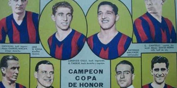 El campeón de San Lorenzo de 1936