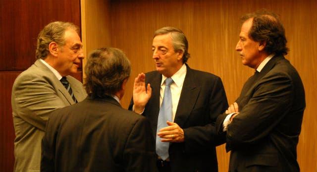 Si a usted le va bien, a mí me va a ir bien, le dijo Brito a Kirchner cuando lo conoció