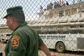 Las cárceles de Venezuela están sobrepobladas y es común que haya choques y motines entre los reos