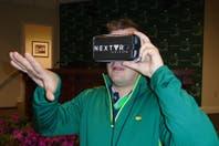 Augusta ya vive la realidad virtual: cómo estar en cada hoyo sin moverse