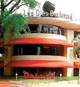 El imponente restaurante Dallas, en Avenida del Libertador 13.800