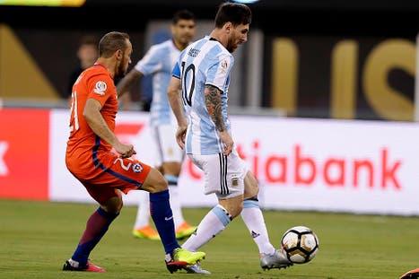 Final de la Copa América Centenario entre Argentina y Chile