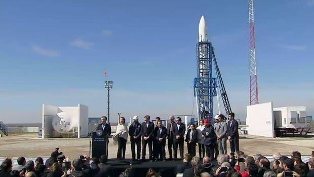 Macri habló en la base espacial desde donde se lanzará el cohete Tronador II