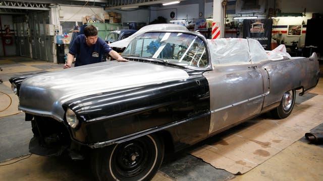 """""""Este no es un auto convencional, es un auto histórico. Y queremos preservar al máximo las piezas originales"""", explica Spadafora, director del Museo del Automóvil"""