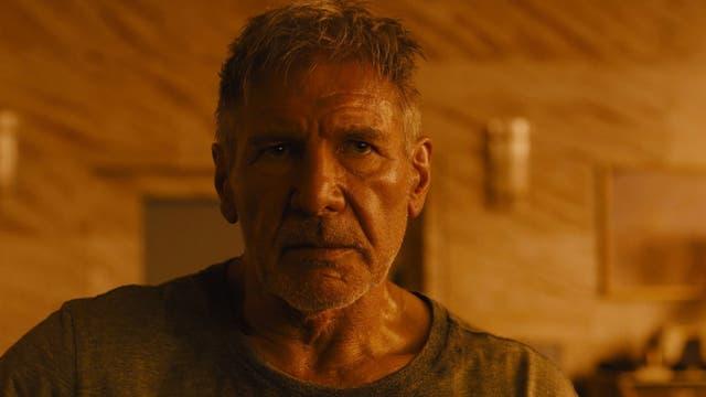 Harrison Ford como Rick Deckard en Blade Runner 2049