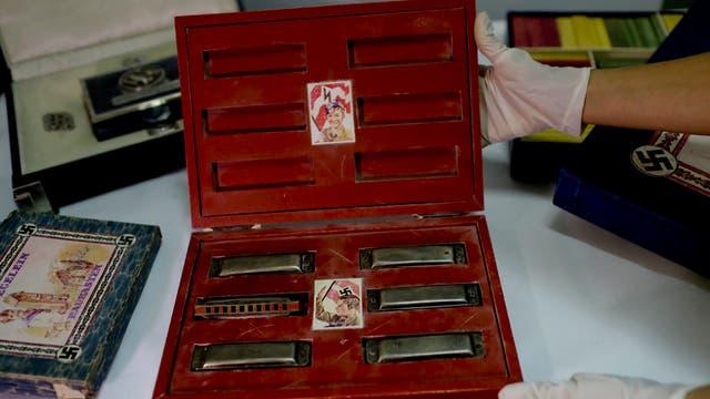 Luego de varios allanamientos en Vicente López y San Isidro, se descubrieron piezas de origen nazi