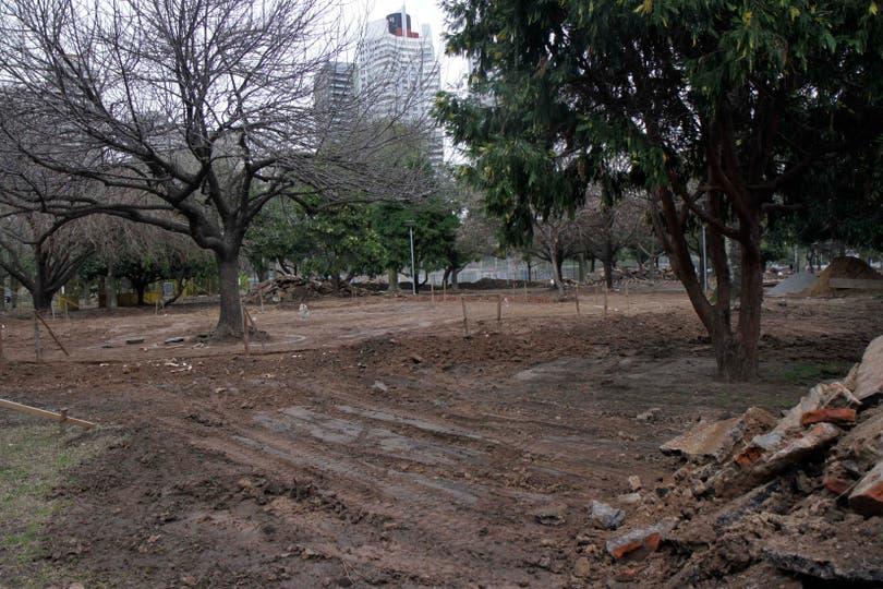 Hoy comenzaron las obras en el parque. Foto: Ministerio de Ambiente