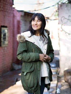 Edith Iraola, la trabajadora social que se superó a sí misma