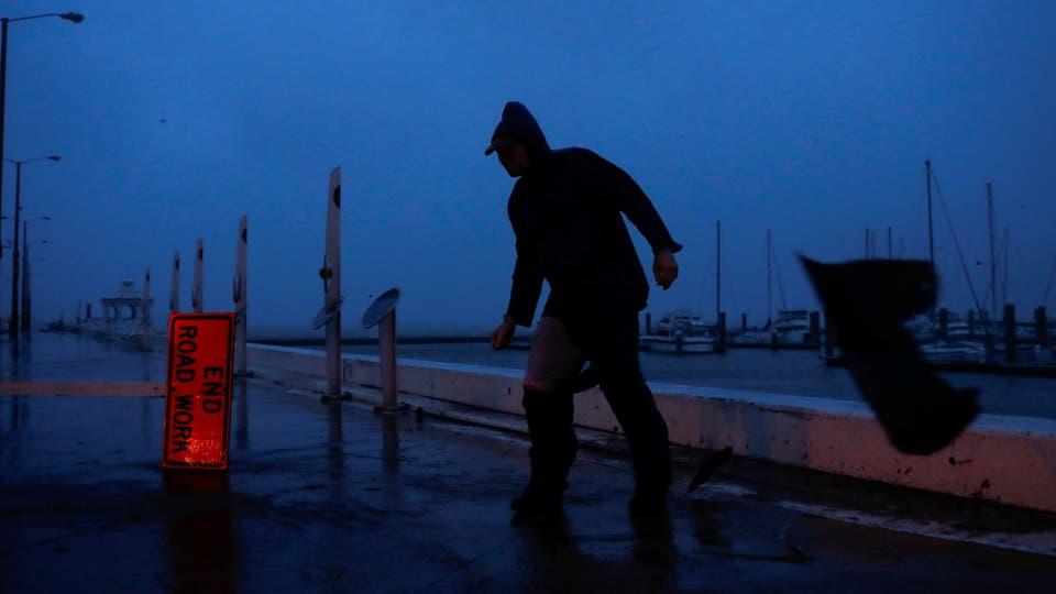 En fotos: el paso del huracán Harvey por la costa de Texas. Foto: Reuters / ADREES LATIF