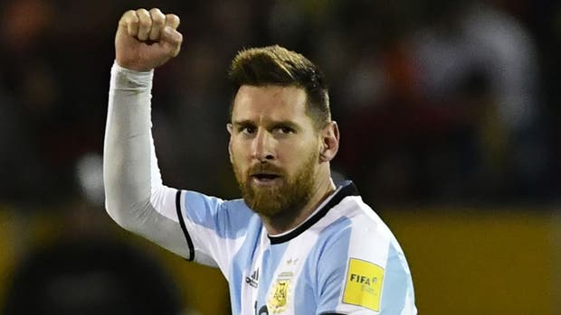 Messi acompaña al seleccionado en el amistoso ante Rusia en Moscú
