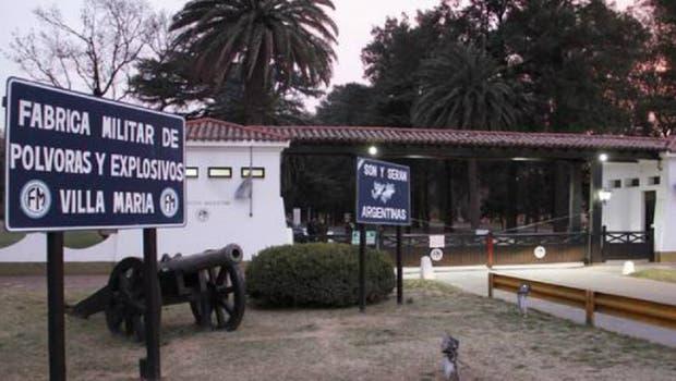 La fábrica militar de Villa María