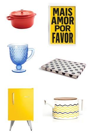 Deco: objetos a puro color