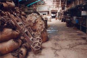 Un lavadero de lana que trabaja con el exterior