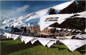 Pañuelos blancos, un símbolo