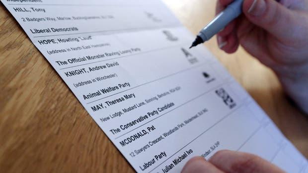 Claves para entender el sistema electoral británico