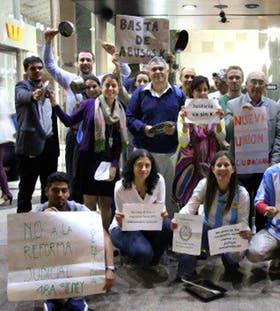 Las protestas, también en Milán