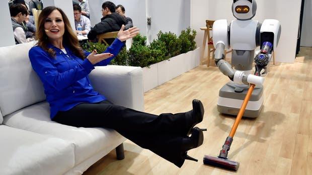 Aeolus, un robot que se encarga de las tareas del hogar