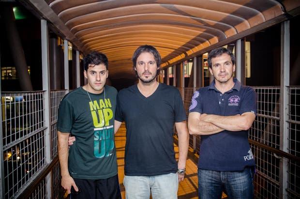 Felipe Coni, hermano de María José, Marcos Menegazzo, hermano de Marina y Cristian Pisani, cuñado de Marina