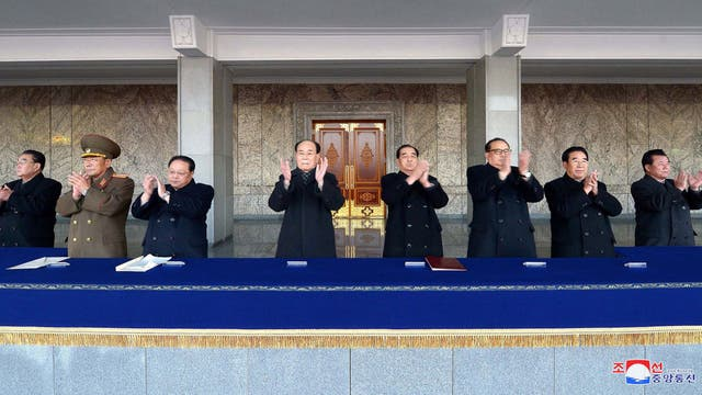 Corea del Norte organizó una masiva celebración por lanzamiento de misil
