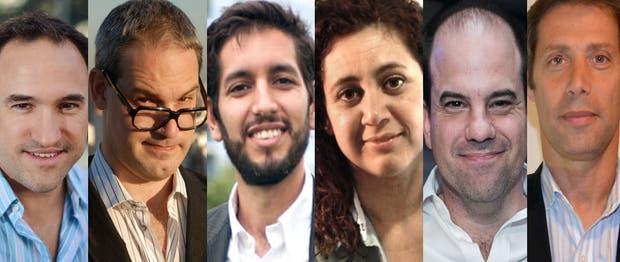 Martín Cao, Ariel Arrieta, Marcelo Baudino, Verónica Franco, Germán Vinusa, Marcelo Rabinovoch